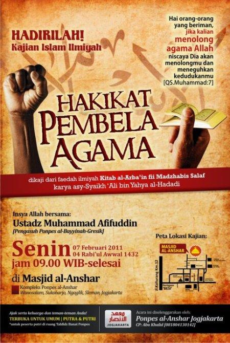 Download MP3 Dauroh Bersama Ustad Afifuddin 'Hakekat Pembela Agama'